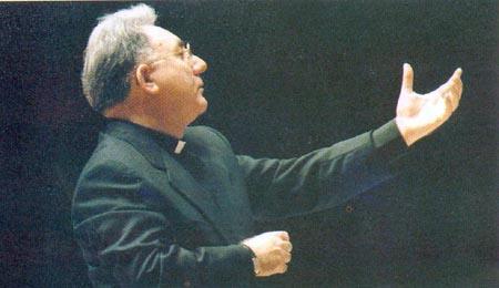 Mons. Giuseppe Liberto, direttore emerito della Cappella Musicale