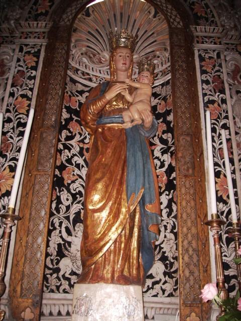 simulacro della Madonna del Popolo