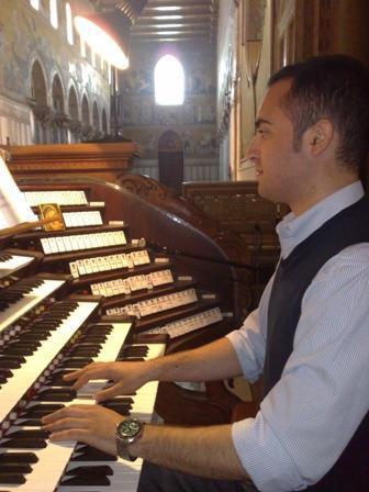 Danilo Pupella, organista