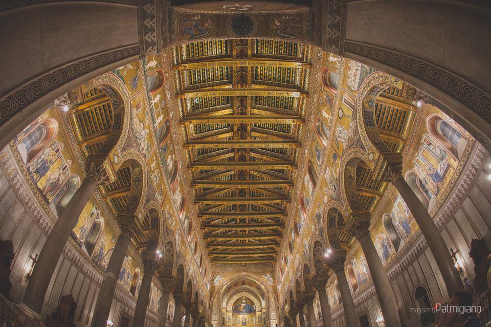 Interno del Duomo di Monreale (www.massimopalmigiano.com)